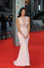 SARAH-JANE CRAWFORD at 2015 EE British Academy Film Awards in London