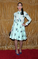 SARAH SILVERMAN at Alice + Olivia by Stacey Bendet Fall 2015 Collection Presentation in New York
