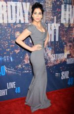 SARAH SILVERMAN at SNL 40th Anniversary Celebration in New York