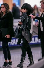 SELENA GOMEZ at Hartsfield-Jackson Atlanta International Airport