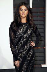 SELENA GOMEZ at Vanity Fair Oscar Party in Hollywood