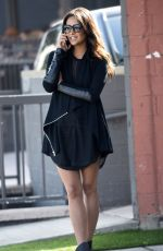 SHAY MITCHELL in Short Skirt Out and About in Los Angeles
