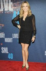 SHERYL CROW at SNL 40th Anniversary Celebration in New York