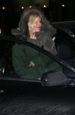 SIENNA MILLER Arrives at David Letterman Show in New York 0502