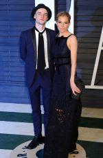 SIENNA MILLER at Vanity Fair Oscar Party in Hollywood