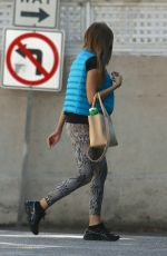SOFIA VERGARA in Tights Out and About in Los Angeles 0302