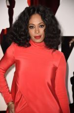 SOLANGE KNOWLES at 87th Annual Academy Awards at the Dolby Theatre in Hollywood
