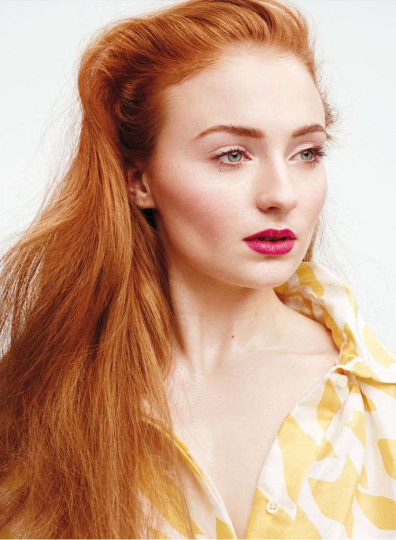SOPHIE TURNER in Instyle Magazine, March 2015 Issue