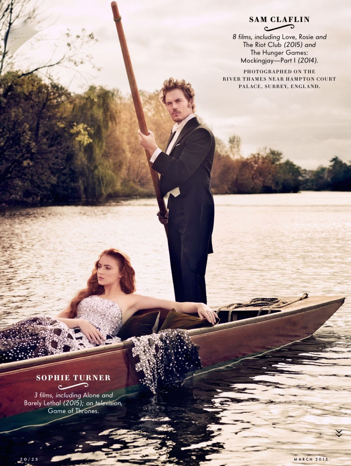 SOPHIE TURNER In Vanity Fair Magazine Hollywood Issue