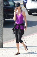 STACY KEIBLER in Leggings Out and About in Los Angeles 1602