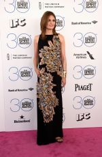 STANA KATIC at 2015 Film Independent Spirit Awards in Santa Monica