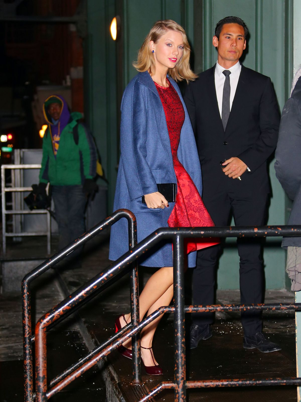 TAYLOR SWIFT and KARLIE KLOSS Night Out in New York