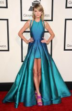 TAYLOR SWIFT at 2015 Grammy Awards in Los Angeles