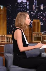 TAYLOR SWIFT at The Tonight Show with Jimmy Fallon in New York