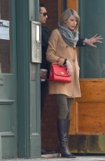 TAYLOR SWIFT Leaves Her Apartment in New York 1502