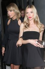 TAYLOR SWIFT Leaves Warner Music Group Grammy After Party in Los Angeles