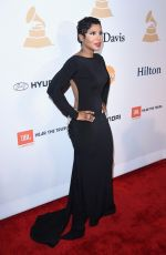 TONI BRAXTON at Pre-grammy Gala and Salute to Industry Icons in Beverly Hills