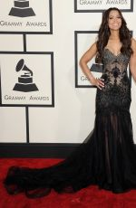 TRACEY EDMONDS at 2015 Grammy Awards in Los Angeles