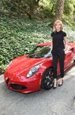 TRICIA HELFER at Vanity Fair and L'Oreal Paris D.J. Night Benefit in Los Angeles