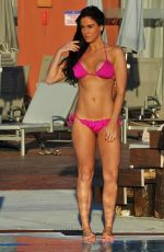 VICKY PATTISON in Bikini at a Pool un Tenrife