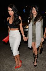 VICKY PATTISON, JASMIN WALIA and FARAH SATTAUR at Luxe Club in Wssex