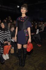 VICTORIA JUSTICE at 2015 DKNY Fashion Show in New York