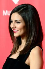 VICTORIA JUSTICE at 2015 Musicares Person of the Year Gala Honoring Bob Dylan