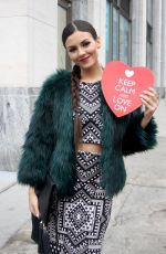 VICTORIA JUSTICE at Mara Hoffman Fashion Show in New York