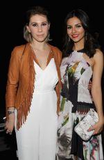 VICTORIA JUSTICE at Rebecca Minkoff 2015 Fashion Show in New York