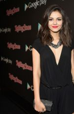 VICTORIA JUSTICE at Rolling Stone & Google Play Event at Grammy Week in Los Angeles