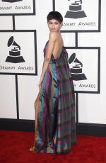 ZENDAYA at 2015 Grammy Awards in Los Angeles