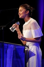 ZENDAYA COLEMAN at 2nd Annual unite4:humanity in Los Angeles