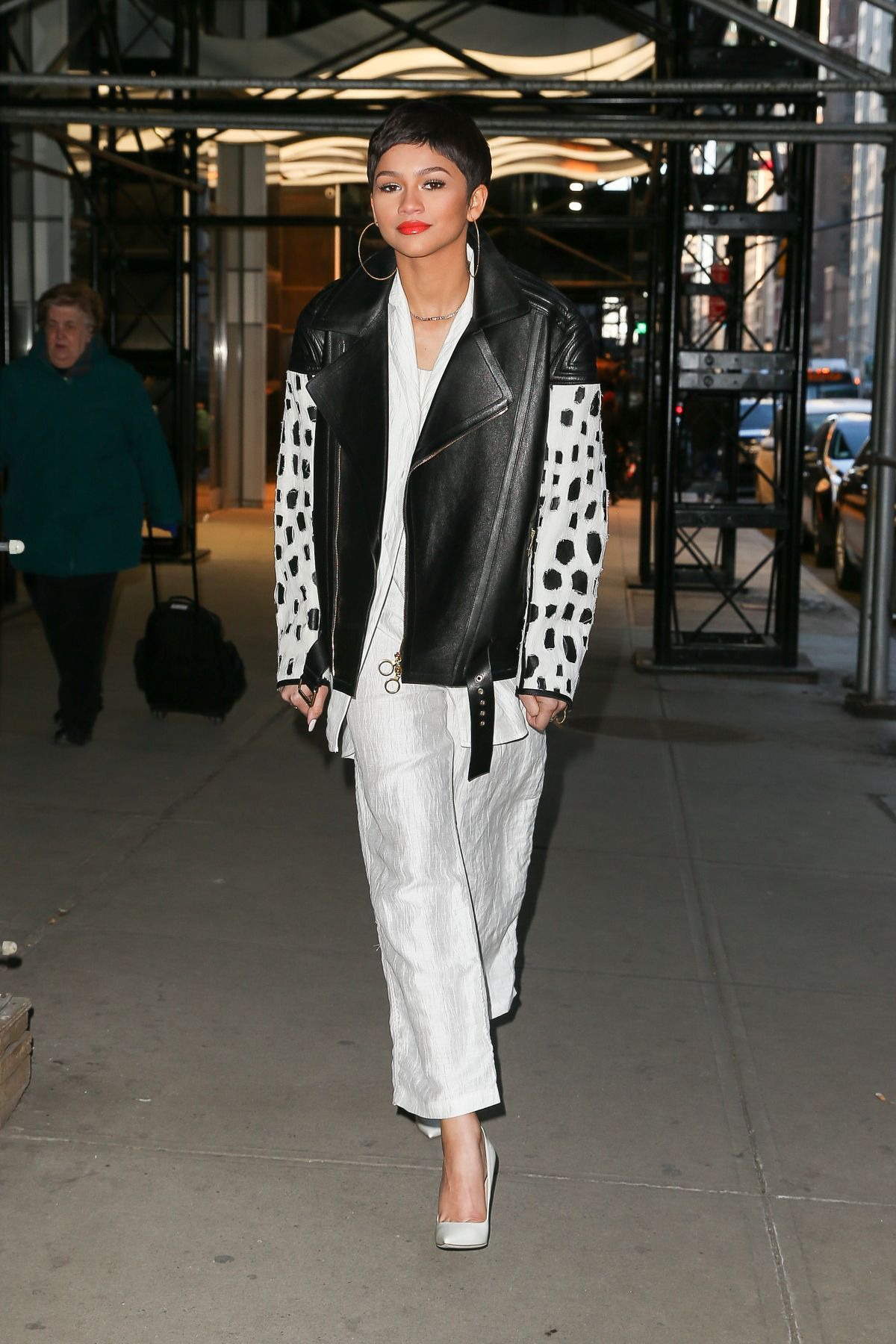 ZENDAYA COLEMAN Night Out in New York 1302