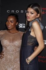 ZNEDAYA at Primary Wave Pre-grammy Party in Los Angeles