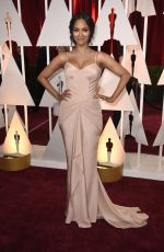 ZOE SALDANA at 87th Annual Academy Awards at the Dolby Theatre in Hollywood