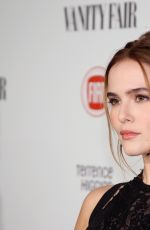 ZOEY DEUTCH at Vanity Fair and Fiat Celebration of Young Hollywood in Los Angeles