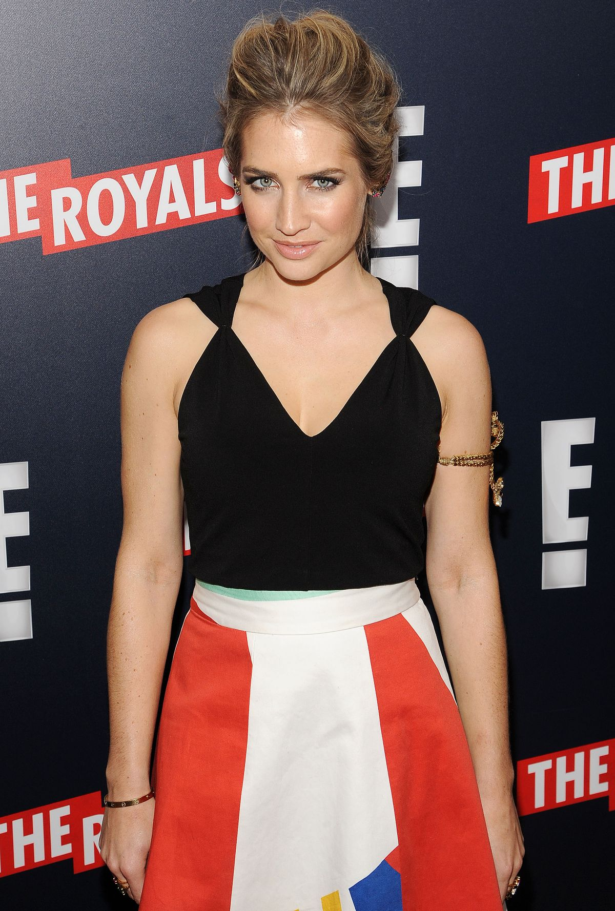 SOPHIE COLQUHOUN at The Royals Premiere in New York