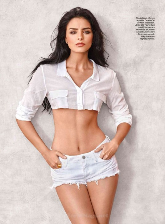 AISLINN DERBEZ in Esquire Magazine