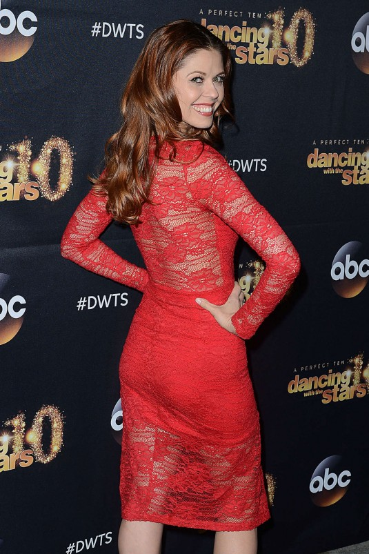 ANNA TREBUNSKAYA at Dancing with the Stars Cast Party