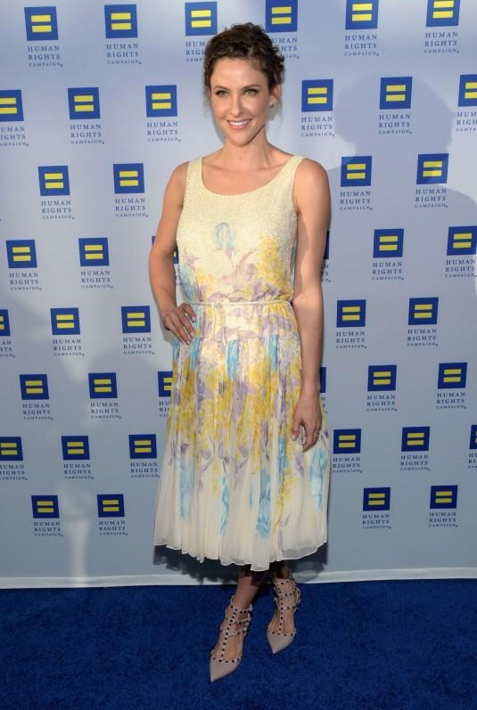 JILL WAGNER at Human Rights Campaign Gala