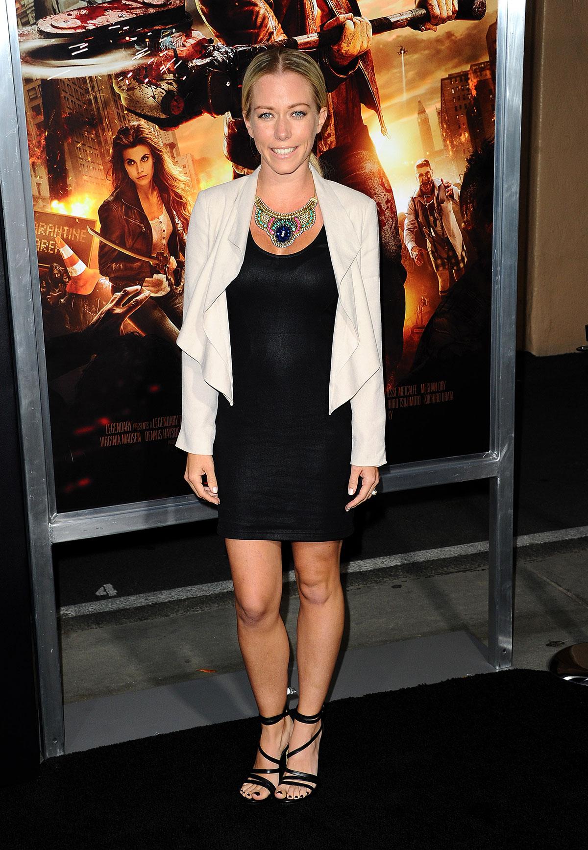 Kendra Wilkinson At Dead Rising Watchtower Premiere In Culver