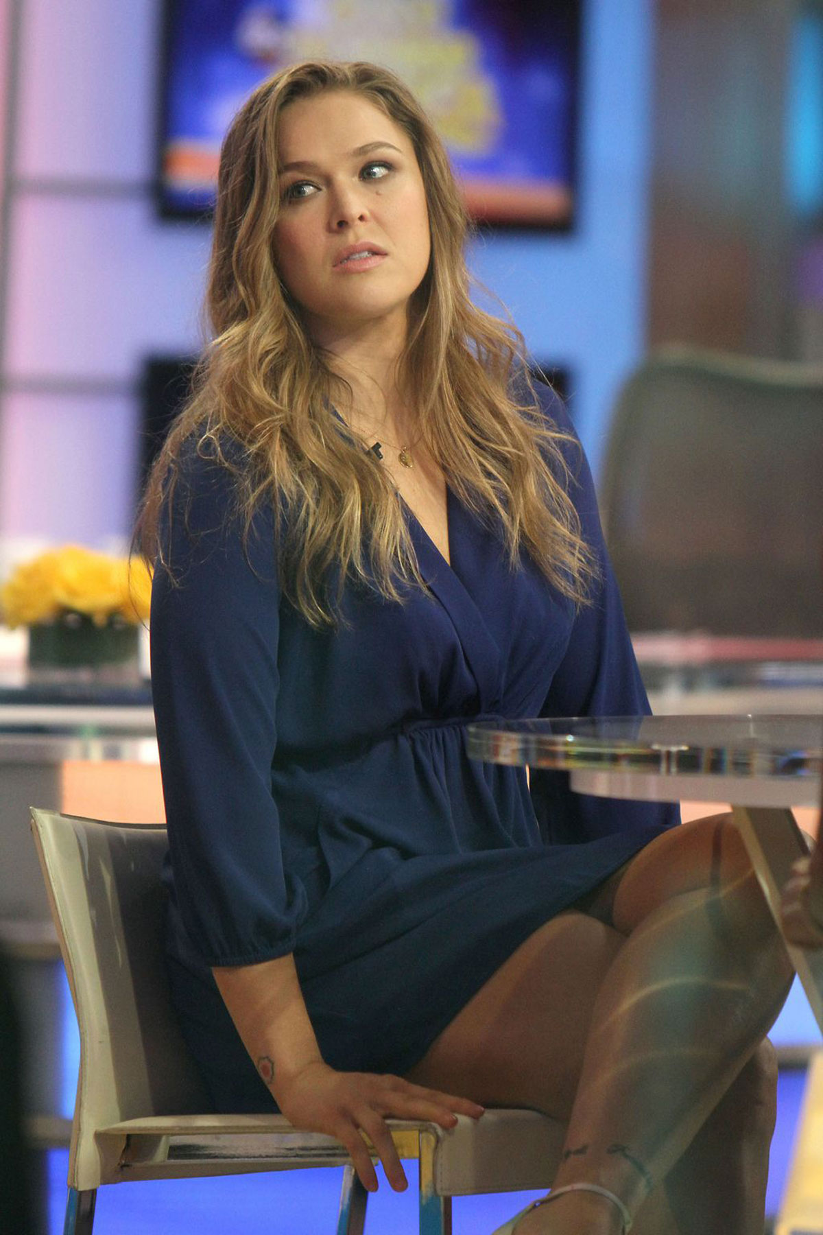 Good Morning America Latest News : Ronda rousey at good morning america in new york hawtcelebs