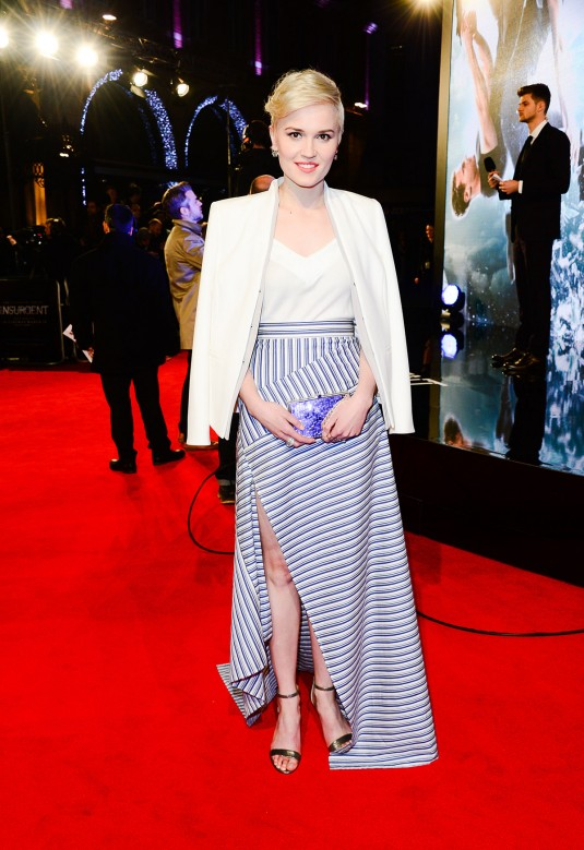 VERONICA ROTH at Insurgent  Premiere