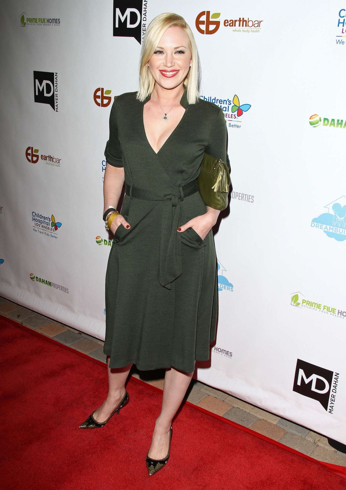 ADRIENNE FRANTZ at Dream Builders Project A Brighter Future for Children Gala