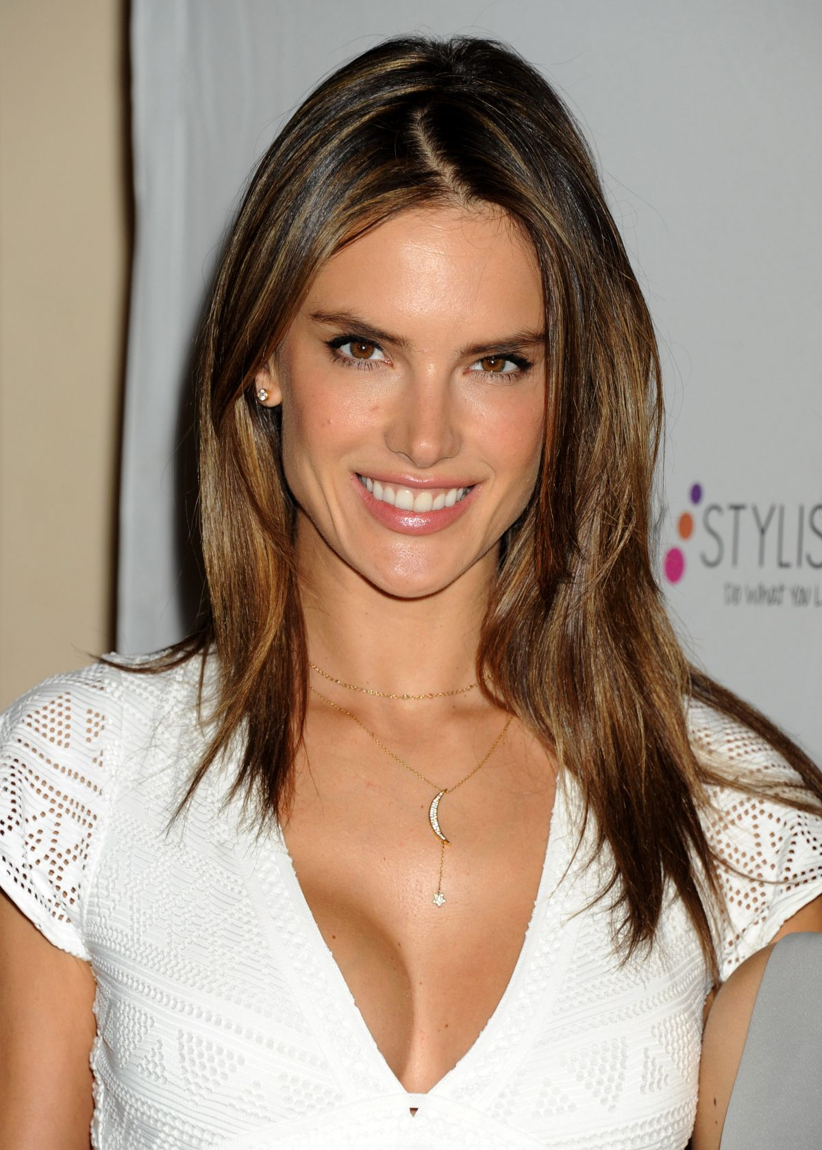 ALESSANDRA AMBROSIO at Simple Stylist Do What You Love! Conference in ...