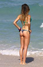 ALESSIA TEDESCHI in Bikini at a Beach in Miami