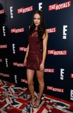 ALEXANDRA PARK at The Royals Premiere in New York
