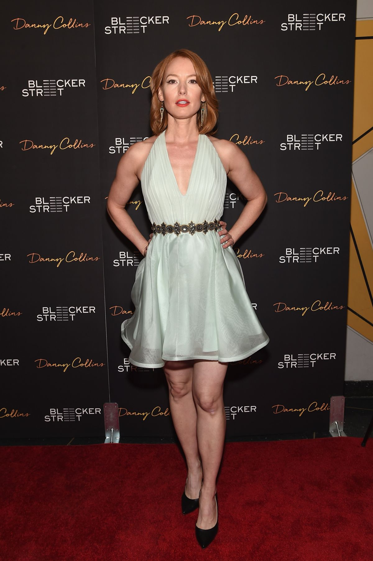 ALICIA WITT at Danny Collins Premiere in New York