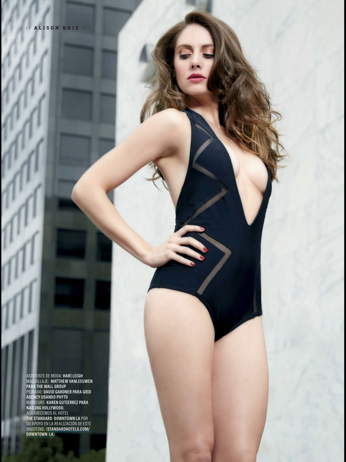 ALISON BRIE in GQ Magazine, March 2015 Issue