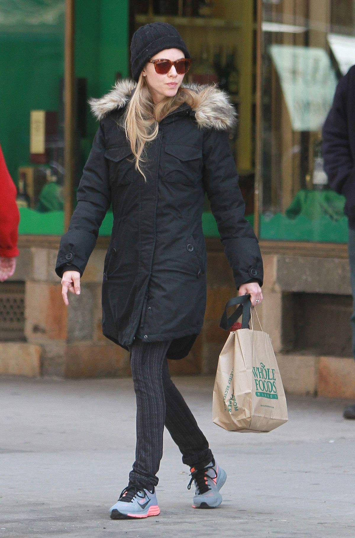 AMANDA SEYFRIED Out and About in New York 1803